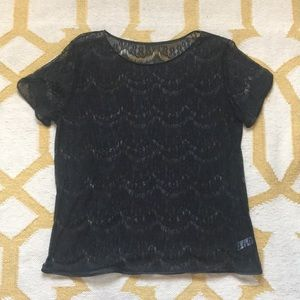 American Apparel Lace Blouse